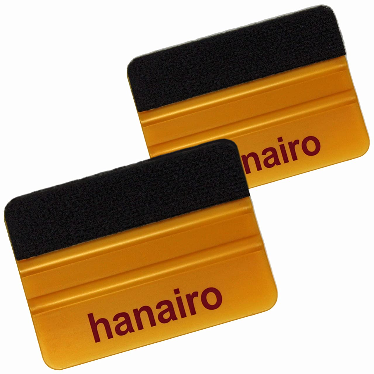 美徳疼痛干渉するhanairo スキージ (ロングフェルト付き) (ゴールド 2個)