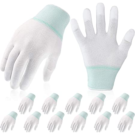 Nylon Cleaning Quilting Gloves For Motion Machine Sewing Gloves Quilting Tool WS
