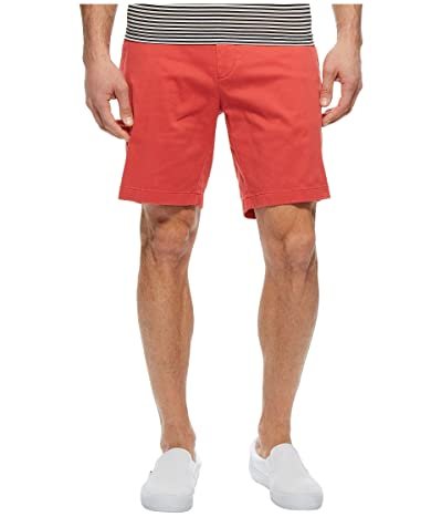 Nautica Classic Fit Stretch Deck Shorts (Sailor Red) Men