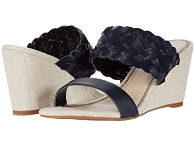 Splendid Maggie (Navy Tumbled Leather/Cow Suede) Women