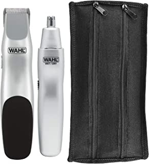 Wahl Groomsman Battery Powered Beard, Mustache, Hair & Nose Hair Trimmer for Detailing & Grooming...
