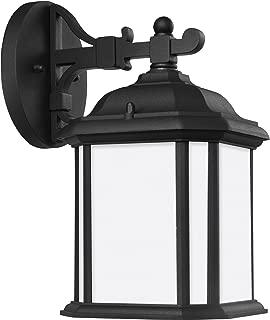 Sea Gull 84529-12 Kent Outdoor Wall Sconce, 1-Light 100 Watts, Black