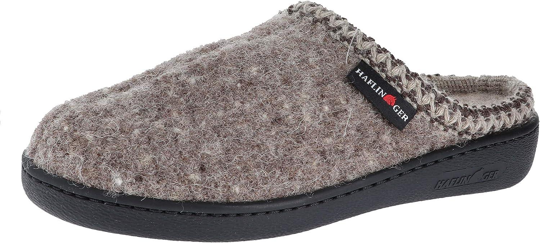 Haflinger Unisex Unisex Unisex AT Boiled Wool Hard Sole Slipper  gör rabattaktiviteter