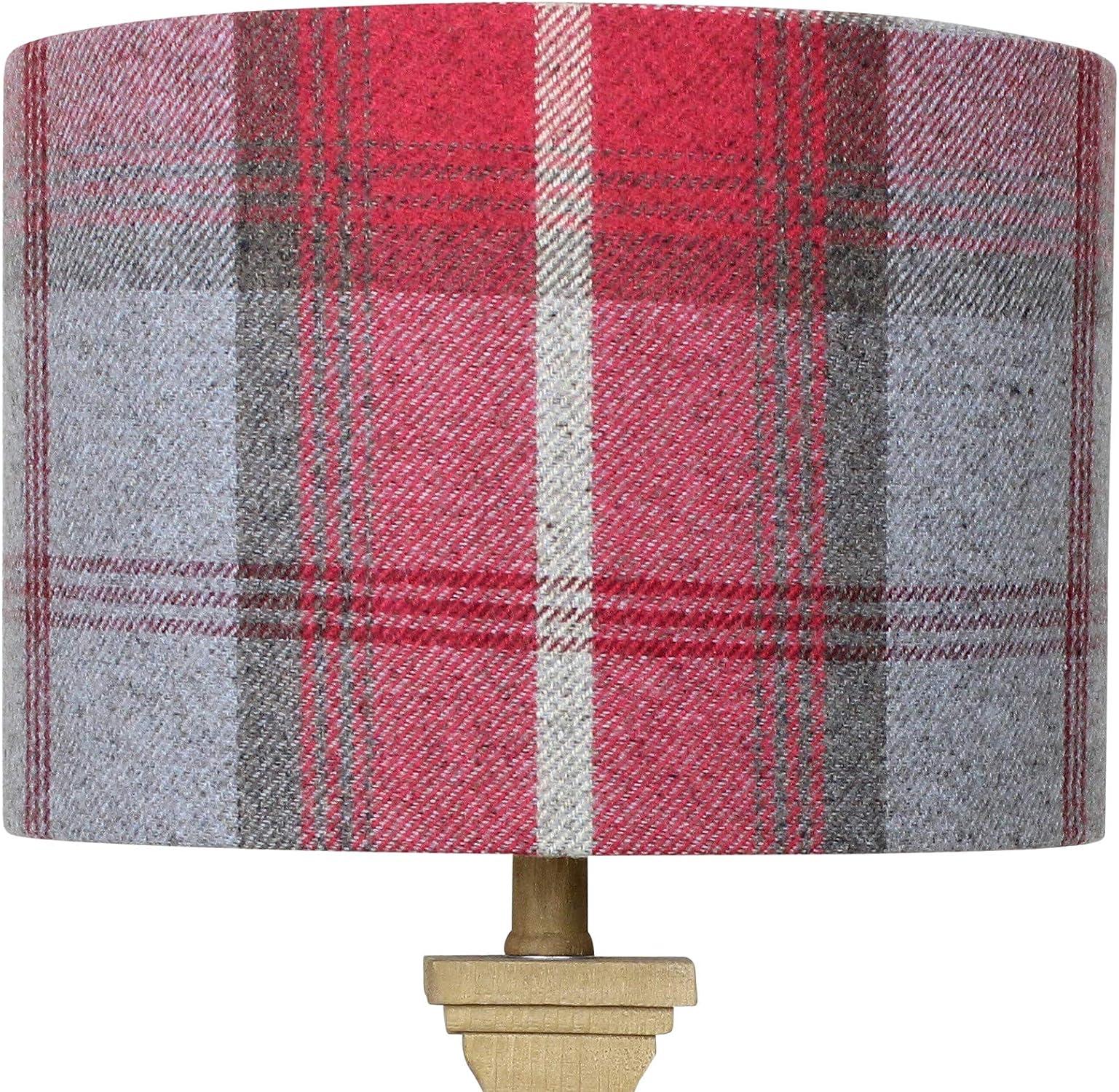 productos creativos Cherry Balmoral Check - Pantalla para para para lámpara, multiColor, 40 cm Diameter x 25 cm High Table Standard Lamp  apresurado a ver