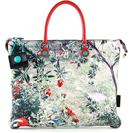 Gabs G3 Super Convertible Shopping Bag M Red Flowers