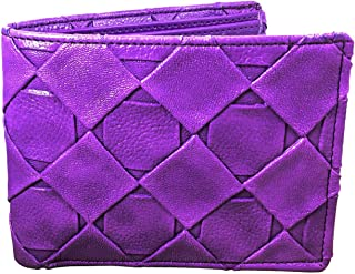 TNW Purple Leather For Women - Bifold Wallets