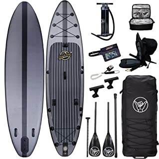 """South Bay Board Co. Premium Inflatable Stand Up Paddle Board11'6"""" X 32"""" X 6""""Complete Fishing & Touring Inflatable Paddle B..."""