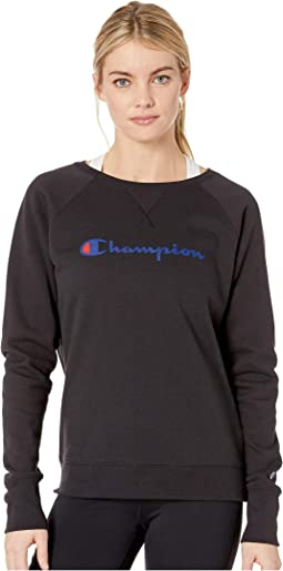 Powerblend® Fleece Boyfriend Crew - Graphic Y07418