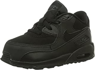 408110-091 Kids Infant AIR MAX 90 (TD) Black/Dark Grey