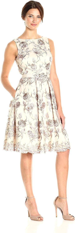 Eliza J Womens Boat Neck Party Dress Dress