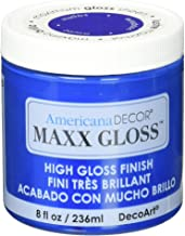 DecoArt Maxx Gloss Acrylic Paint, 8 oz, Sapphire