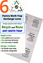 Able Catch 6 Recharge Lures - Pantry Moth Trap Refill
