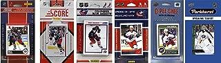 C&I Collectables NHL Columbus Blue Jackets 男士 6 种不同的*收藏卡队套装,白色