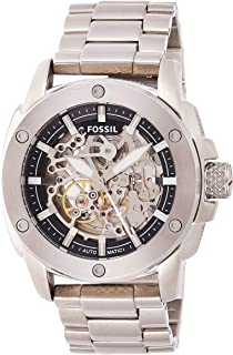 Fossil Nate Men's Beige Ana-Digi Dial Leather Band Watch - JR1506