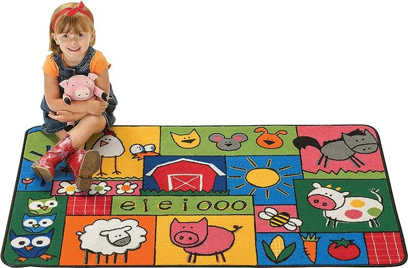 Carpets For Kids 36 39 Old Macdonald Farm Kid Value Rug 3 X 4 6