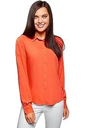 Amazon.es: Naranja - Blusas y camisas / Camisetas, tops y blusas: Ropa