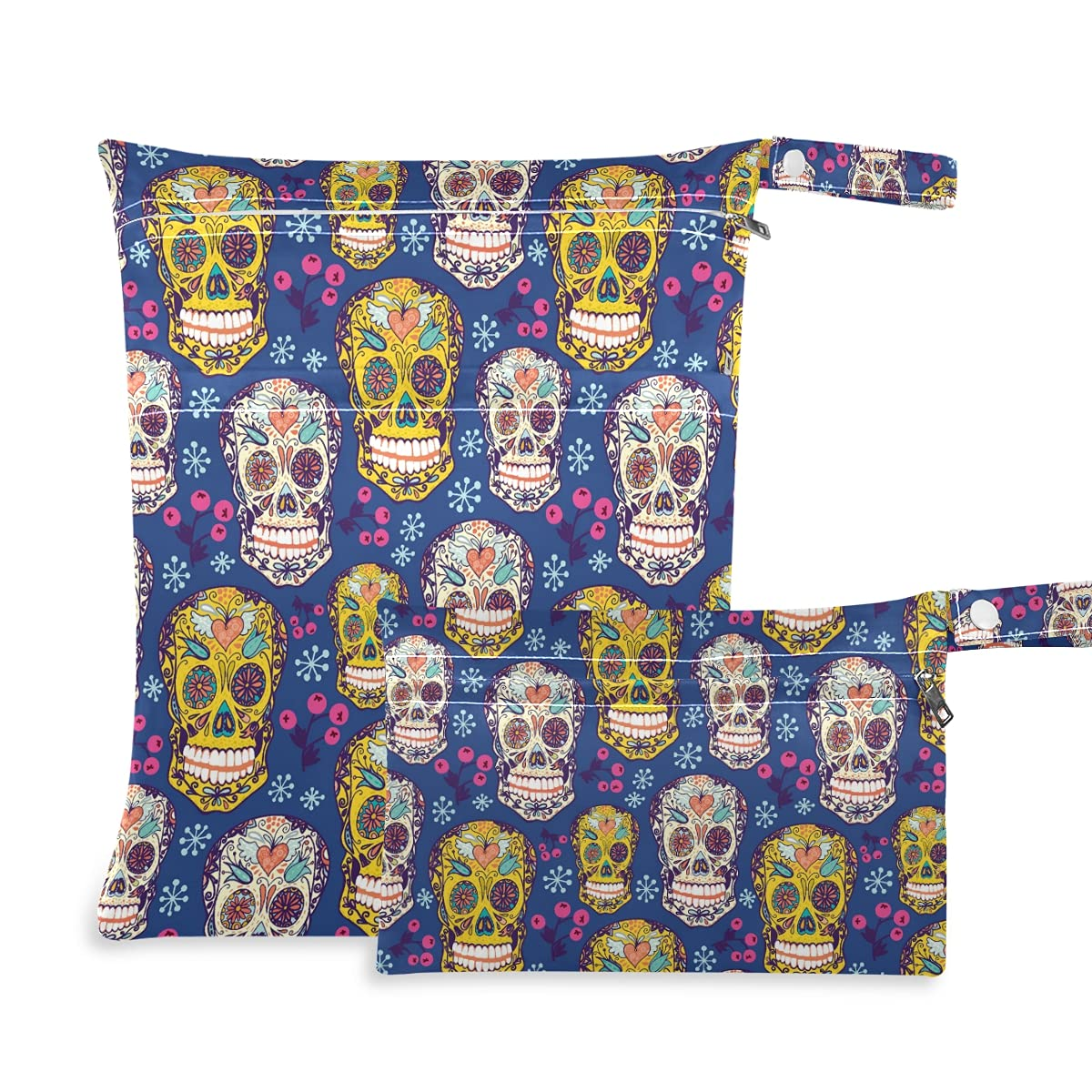 Dead Sugar Skull Wet Dry Swimsui Reusable for Max 87% OFF Diaper Bag Max 86% OFF