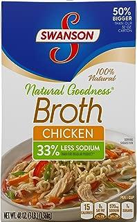 SwansonNatural Goodness Chicken Broth, 48 oz. Carton
