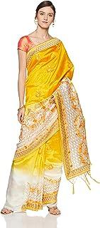 Aalia Art Silk Saree With Blouse Piece