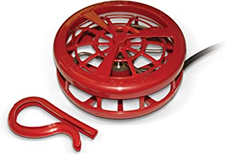 K&H Pet Products Ultimate Stock Tank Deicer w/ Cord Clip Red 750 Watts