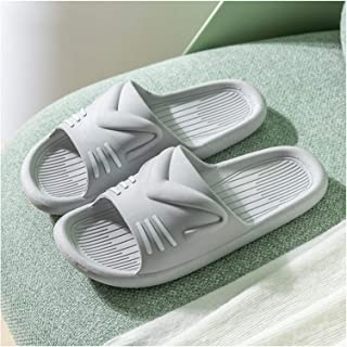 YAOLUU Summer Slippers Zapatillas de Verano Lindo Inicio Indoor Moda Casa Baño Baño Baño Sandalias Hombre Flat Slippers (C...