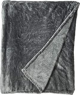Qbedding Inc. Luxury Collection Ultra Soft Plush Fleece Lightweight All-Season Throw/Bed Blanket (Throw (50-Inch-by-60-Inch), Azure Gray)