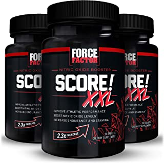 Force Factor Score! XXL 30ct 3-Pack, 90 Count