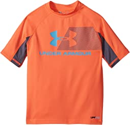 Under Armour Kids - H20 Reveal Short Sleeve Rashguard (Toddler)
