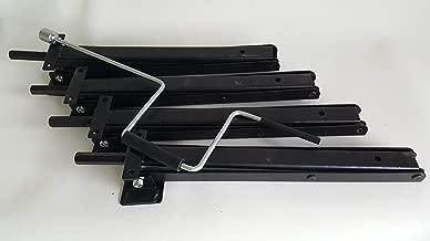 Class A Customs 4 RV Trailer Camper Post Jacks w/Jack Crank Handle