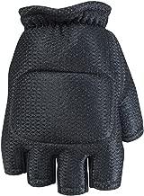 Empire Paintball Soft Back Gloves, Half Finger (Black)