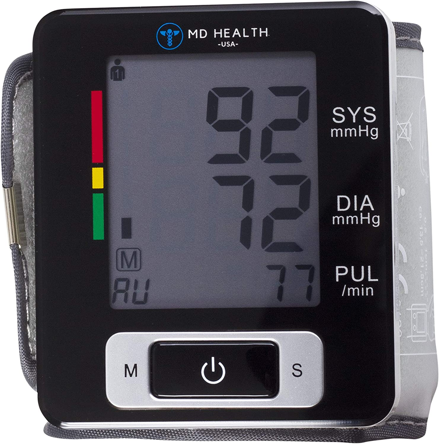 Digital Wrist Blood Pressure Monitor 2 Special Recommendation Campaign Memory 99 Reading Automat