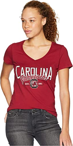 South Carolina Gamecocks University V-Neck Tee