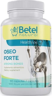Oseo Forte Capsules by Betel Natural - All Natural Support for Strong, Healthy Bones - 90 Capsules