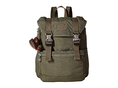 Kipling Experience Small Backpack (Jaded Green) Backpack Bags