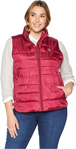 Plus Size Basic Vest