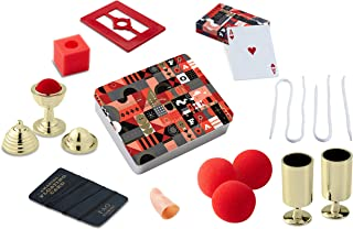 FAO Schwarz 8 Piece Toy Magic Trick Set for Kids, Easy to Learn Kit Comes with Playing Cards, Floating Card Trick, Fake Fi...