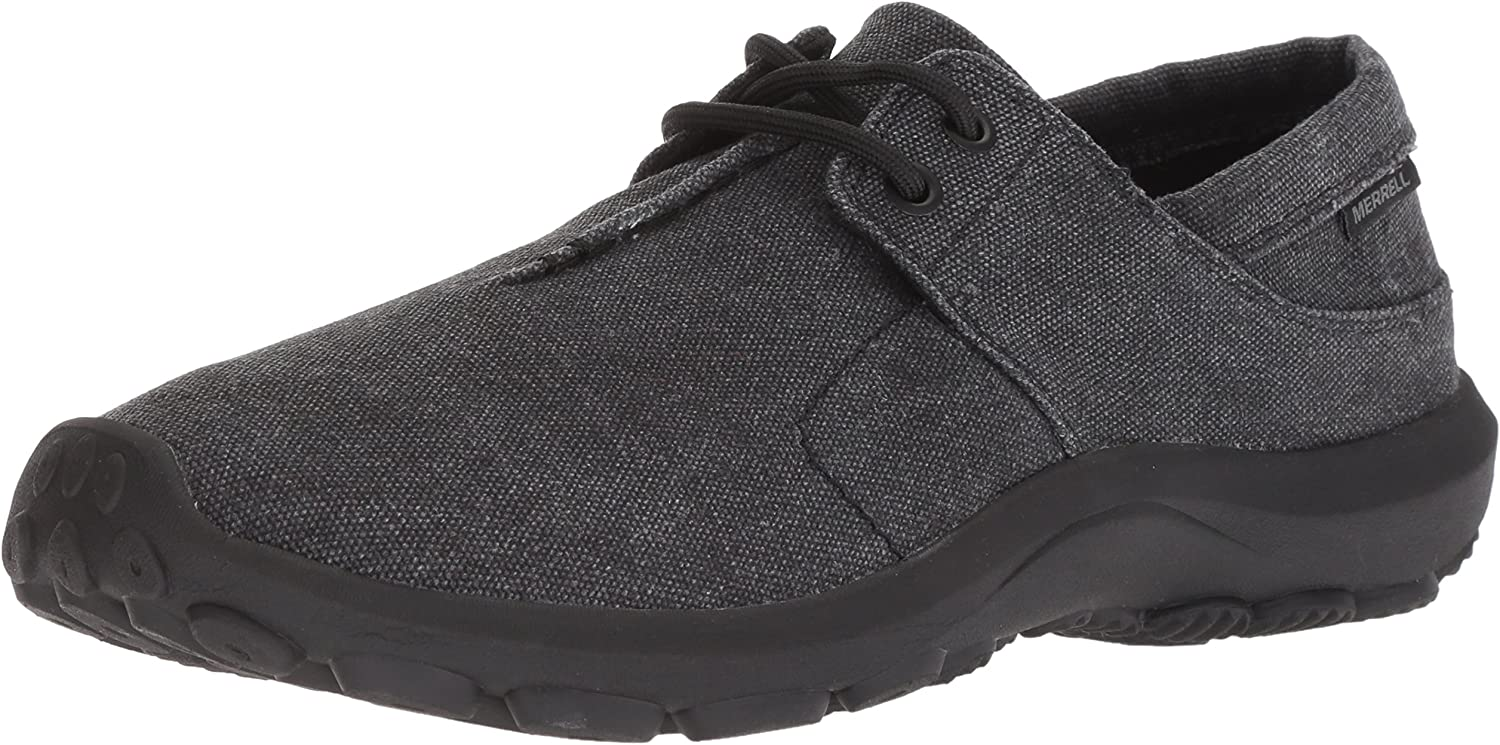 Merrell Hommes's Jungle Ayers LACE Moccasin, noir, 11.5 M US