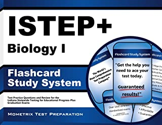 ISTEP+ Biology I Flashcard Study System: ISTEP+ Test Practice Questions & Exam Review for the Indiana Statewide Testing for Educational Progress-Plus Graduation Exams (Cards)