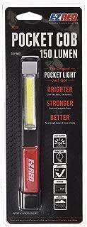 E-Z Red 150 Lumen COB LED Pocket Flashlight with Magnetic Base and Built in Pocket Clip.