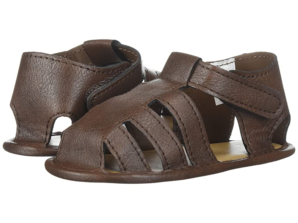 Baby Deer Soft Sole Fisherman Sandal (Infant) (Brown) Boys Shoes