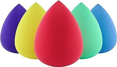 Premium Beauty Sponge Makeup Blender (Set of 5) for Powder, Concealer and Foundation Applicator - Makeup Sponges for Cosmetic Blending