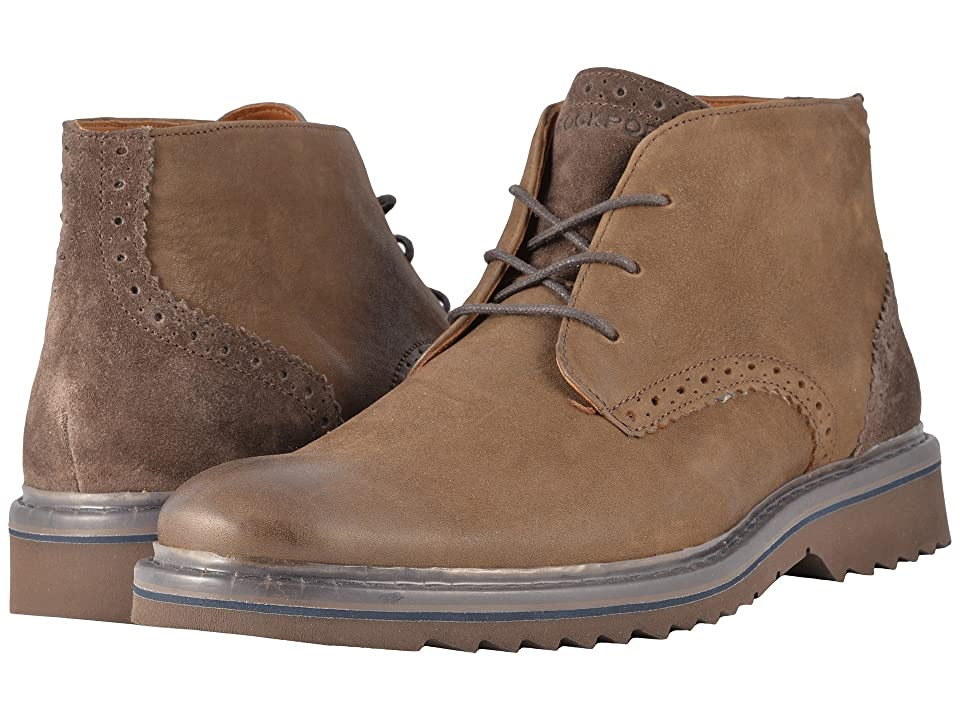 Rockport Jaxson Low Boot (Brown) Men
