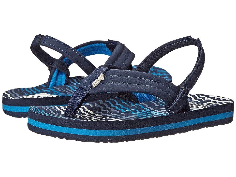 Reef Kids Ahi (Infant/Toddler/Little Kid/Big Kid) (Blue Horizon Waves) Boys Shoes