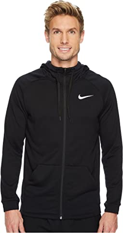 7a83edd98cab Black White. 192. Nike. Dry Training Full-Zip Hoodie