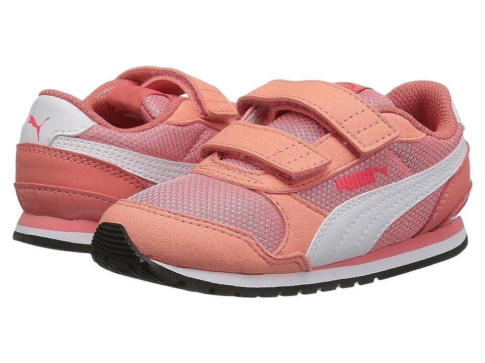 Puma Kids ST Runner V2 Mesh V (Toddler) (Shell Pink/Puma White) Girl