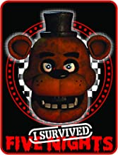 Five Nights at Freddy's Quarter Slice I Survived Five Nights Throw