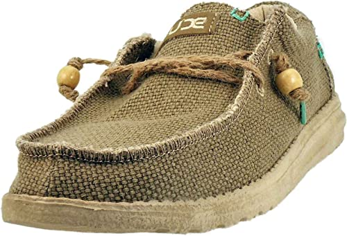 Dude Chaussures Chaussures Lacets Wally Braided-Sage-  expédition rapide