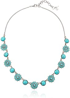 Womens Turquoise Collar Necklace III
