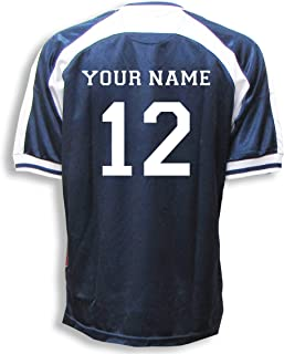 Game Day Football Fan Jersey (several colors), Customized With Your Name and Number