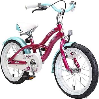 Bikestar | Bicicleta para niños y niñas 16 Pulgadas | Color Rosa ...